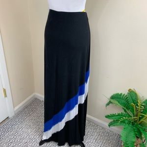 Lane Bryant maxi skirt sz 26/28 black